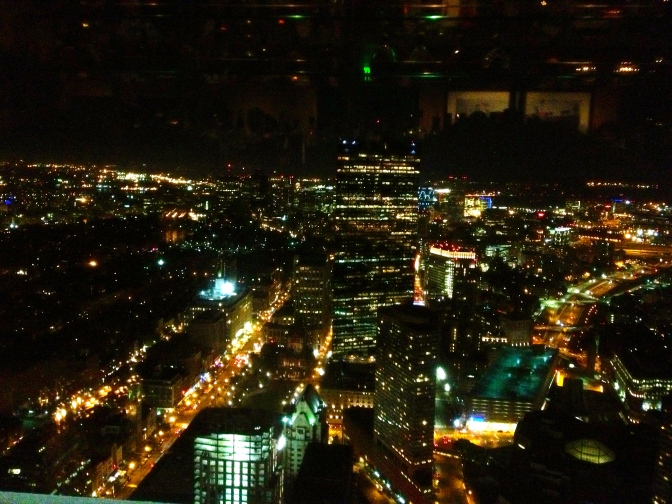 View from the Prudential Building