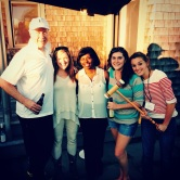 David Gergen, Caroline, Carrie and Kate