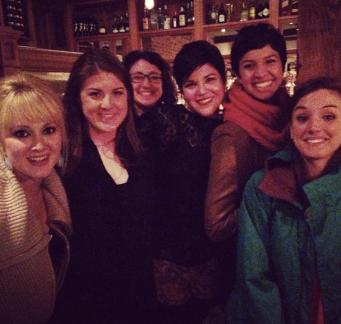 Katie, Mindy, Rachel, Rachel, & Morgan